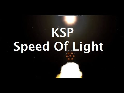 What Does It Take To Reach Lightspeed In Kerbal Space Program?
