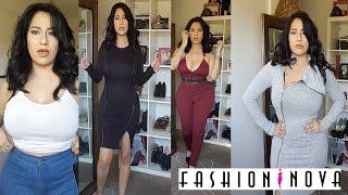 Fashion Nova Try on Haul Size Large