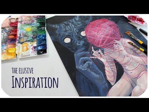 Tips on finding inspiration for art //