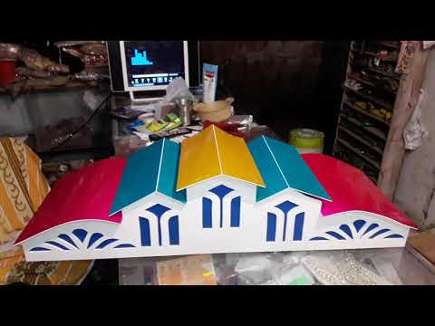 How to make an HOMEMADE  Aquarium Canopy Colourfull Top coveres 9371776777