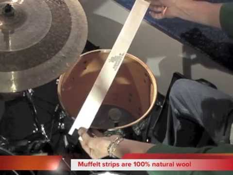 How to get a THUDDY Floor Tom sound with Slug Drum Accessories