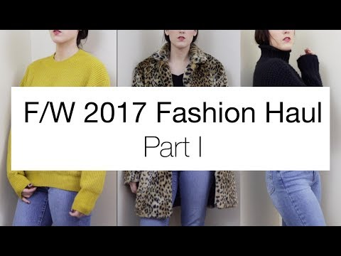 F/W 2017 Try On Haul Part 1: Target, TJ Maxx, H&M, and More!