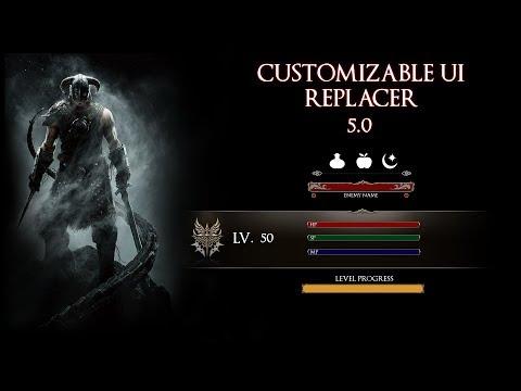Skyrim: Customizable UI Replacer Tutorial