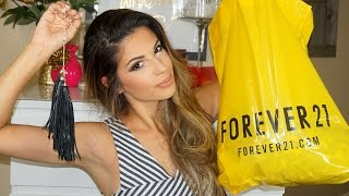 Spring Clothing Haul 2015 Forever 21, H&M & More! TRY ON!