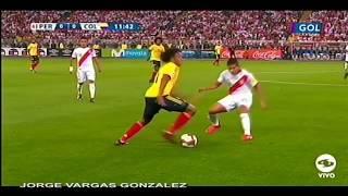 COLOMBIA VS PERU ULTIMO PARTIDO DE LAS ELIMINATORIAS RUSIA 2018 OCTUBRE 10 2017