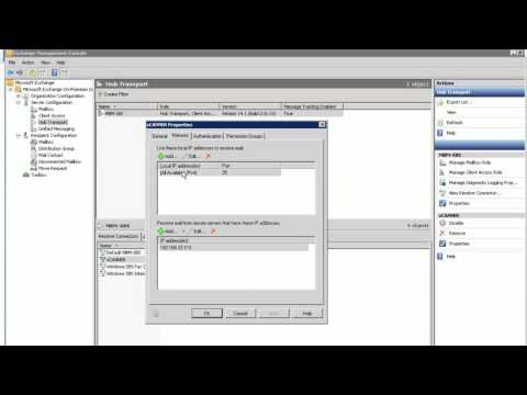 How to make receive connector in Exchange 2010 allow Anonymous smtp email scanner