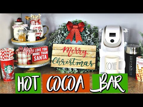DIY HOT COCOA & COFFEE BAR | AFFORDABLE!  |  Belinda Selene