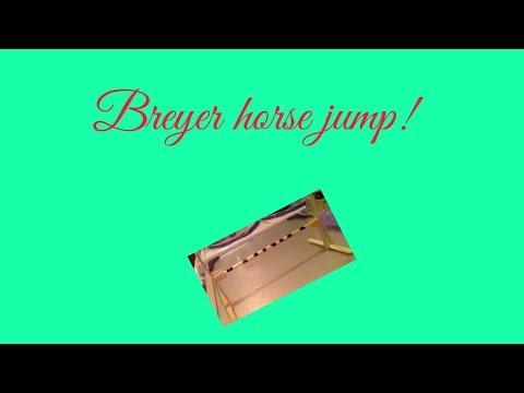 How to make a Breyer horse jump part 1