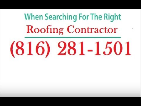 Emergency Roof Repair Gladstone MO (816) 281-1501