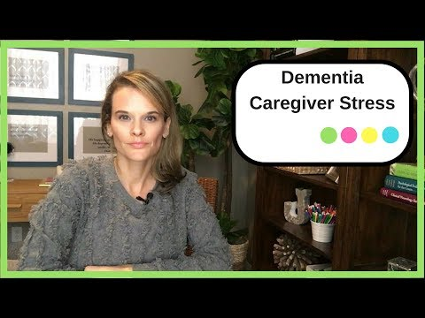 How to cope with dementia caregiver stress: 4 ideas