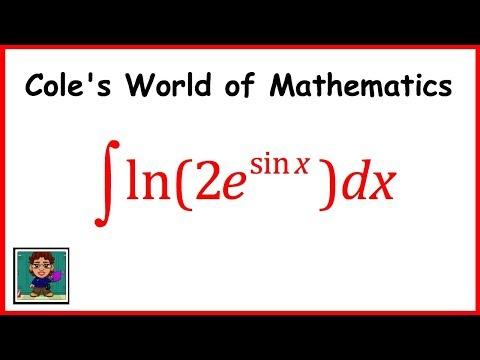 Integral of ln(2e^sin x) ❖ Calculus 1