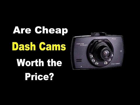 🤠   REVIEW: Are Cheap Dash Cameras worth the price?
