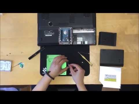 Clevo P150HM adding 2nd HDD or SSD with HDD Caddy / Destiny SA15 / Sager NP8150