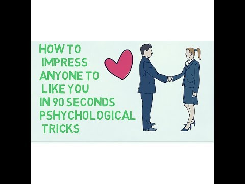 how to impress a anyone in 90 seconds or less |