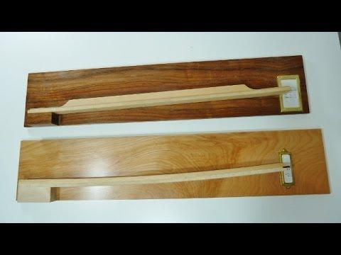 Make a wooden hygrometer