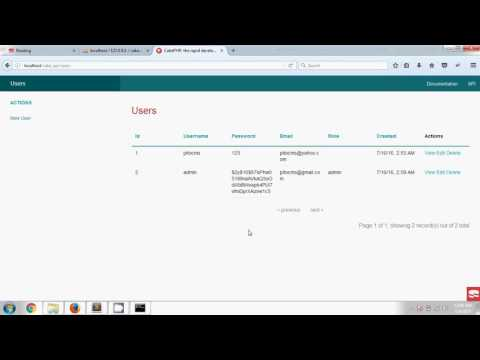 Cakephp 3 REST Api (API via REST in CakePHP is simple!!)# Bangla Tutorial