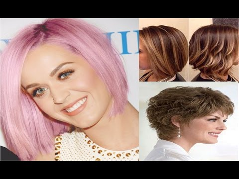 10 Easy Hairstyles for SHORT Hair | The Hottest Short Hairstyles & Haircuts for 2016