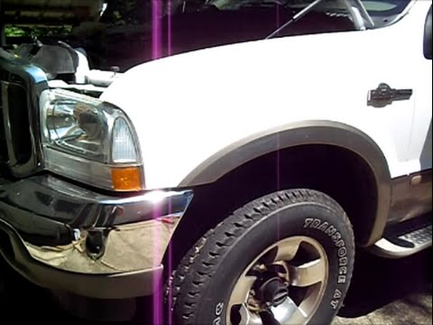 Ford F250 super Duty 4x4 `04 hubs locked in all the time