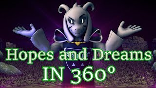 [SFM Undertale] Hopes and Dreams 360° (360 degree Battle) Asriel Dreemurr