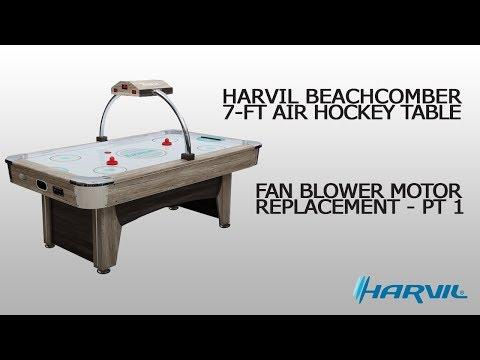 Fan Blower Motor Replacement - Part 1 | Harvil Beachcomber Air Hockey Table | Dazadi.com