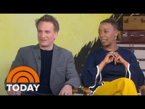 'Harry Potter And The Cursed Child' Broadway Stars On Playing Harry Potter, Ron, & Hermione | TODAY