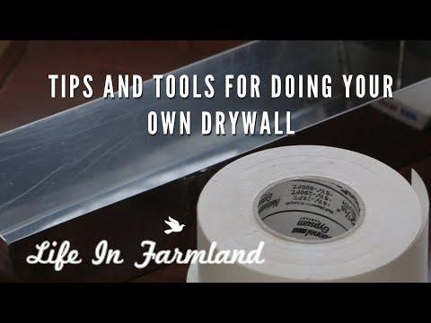Beginner Tips  On Drywall Mud