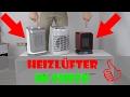Heizlüfter Test 2017 - Rowenta Instant Aqua Safe, Excel Aqua Safe, Steba KH2 im Vergleich Bad
