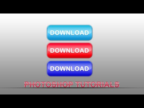 photoshop tutorial | how to create glossy botten in photoshop | hindi / urdu tutorial