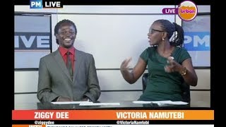 #PMLive CelebrityEdition: Ziggy Dee Reads News on Urban TV[3/3]