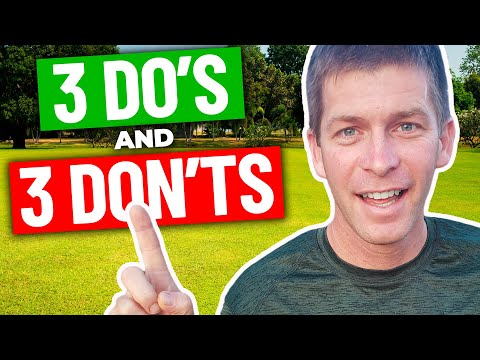 Lawn Care Business Start Up Do's and Don'ts