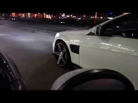 Mercedes C63 Brabus Coupe Exhaust Sound and Acceleration