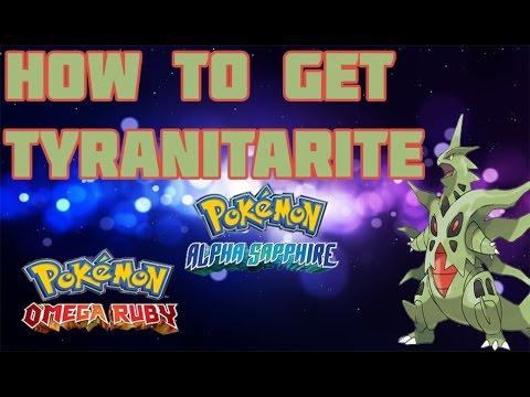 How to Get Mega Tyranitar in ORAS - Mega Stone Location Guide