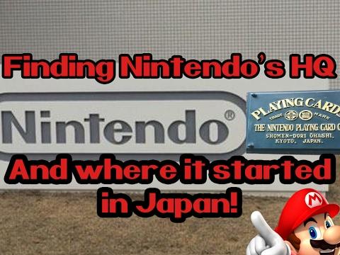 Nintendo's HQ and original card factory | Kyoto, Japan
