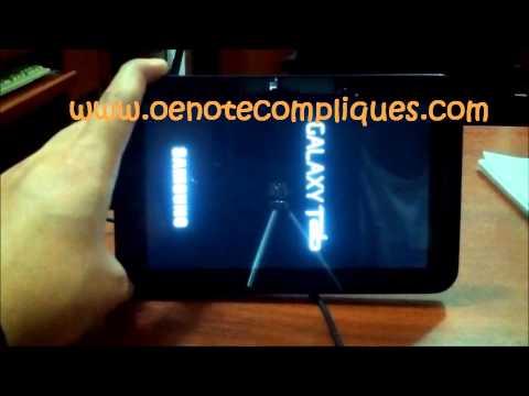 Unbrick Regresar a Stock Galaxy Tab P1010 [HD]