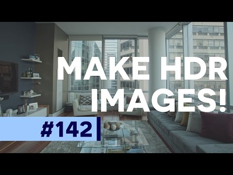 How to use Merge to HDR in Photoshop CC