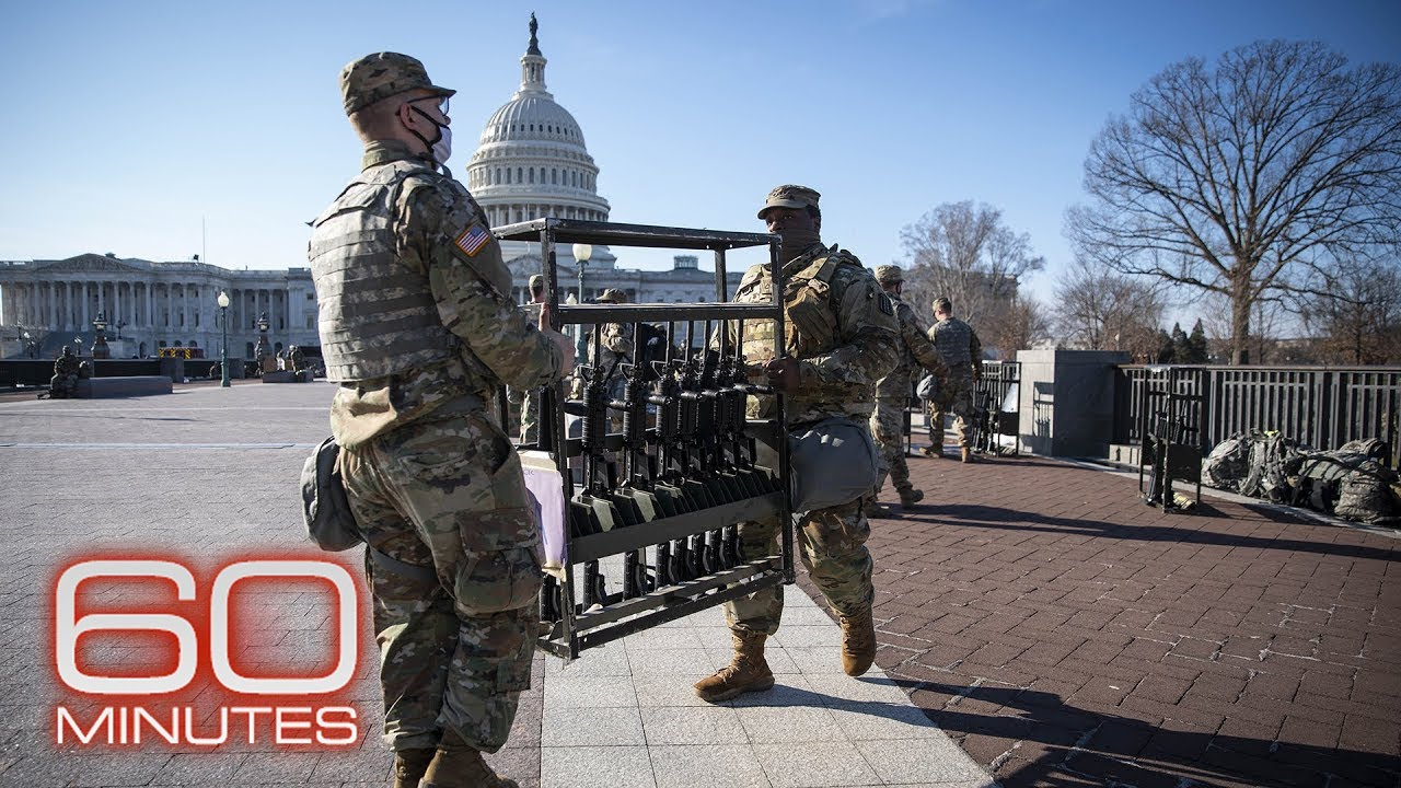 Protecting against potential violence at the Biden Inauguration