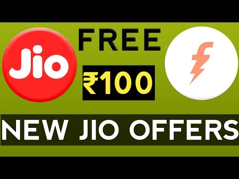 Freecharge Jio Offers ₹100 Free|| Recharge and Get Full CashBack Instantly
