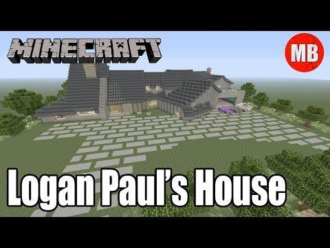 Minecraft Logan Paul's House! | Complete Maverick House Tour!