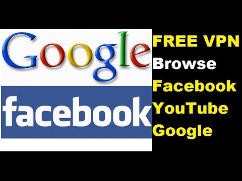 How To BROWSE FACEBOOK with FREE VPN
