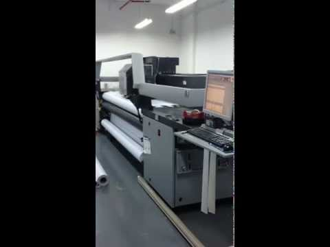 HP Scitex XP2700 11/2008 model used UV printer for sale by Admedia Supplies