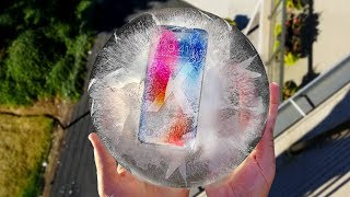 iPhone X 10 Day Freeze and 50 FT Drop Test
