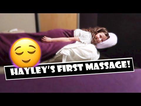 Hayley's First Massage 😌 (WK 378.7)   Bratayley