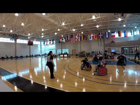 Detroit Wheelchair Rugby Club  versus Tennessee Period 3 (2018 03 18)