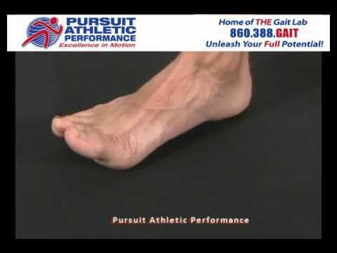 The Small Foot Exercise, with Dr. Kurt Strecker