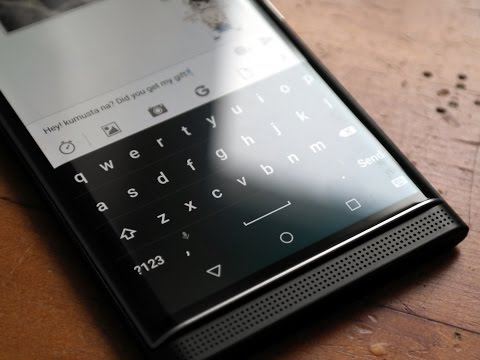 How to setup multi-language keyboard support on the BlackBerry Priv