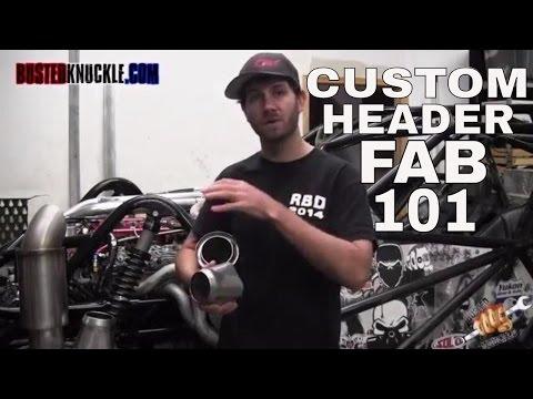 How to Make Custom Headers - Rock Rods Tech