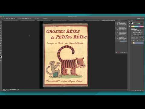 Resizing Pages in a Preexisting PDF Using Photoshop