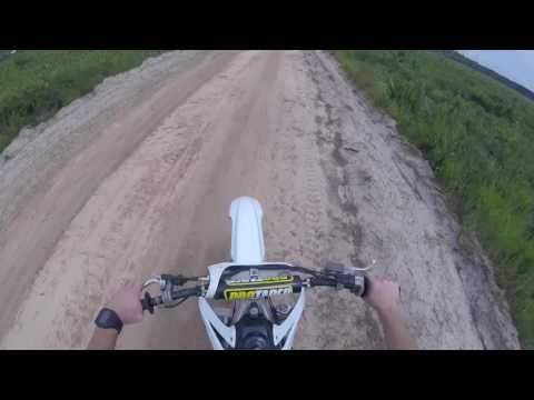 First Time on Dirtbike riding a 450