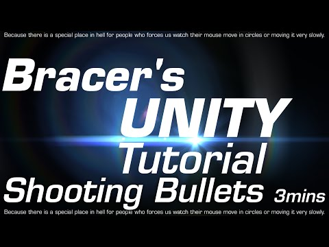 How to Shoot Bullets in Unity in 3mins!