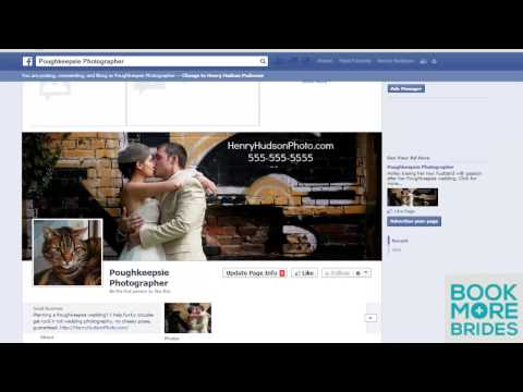 How to Set Up Facebook Page For Your Wedding Business